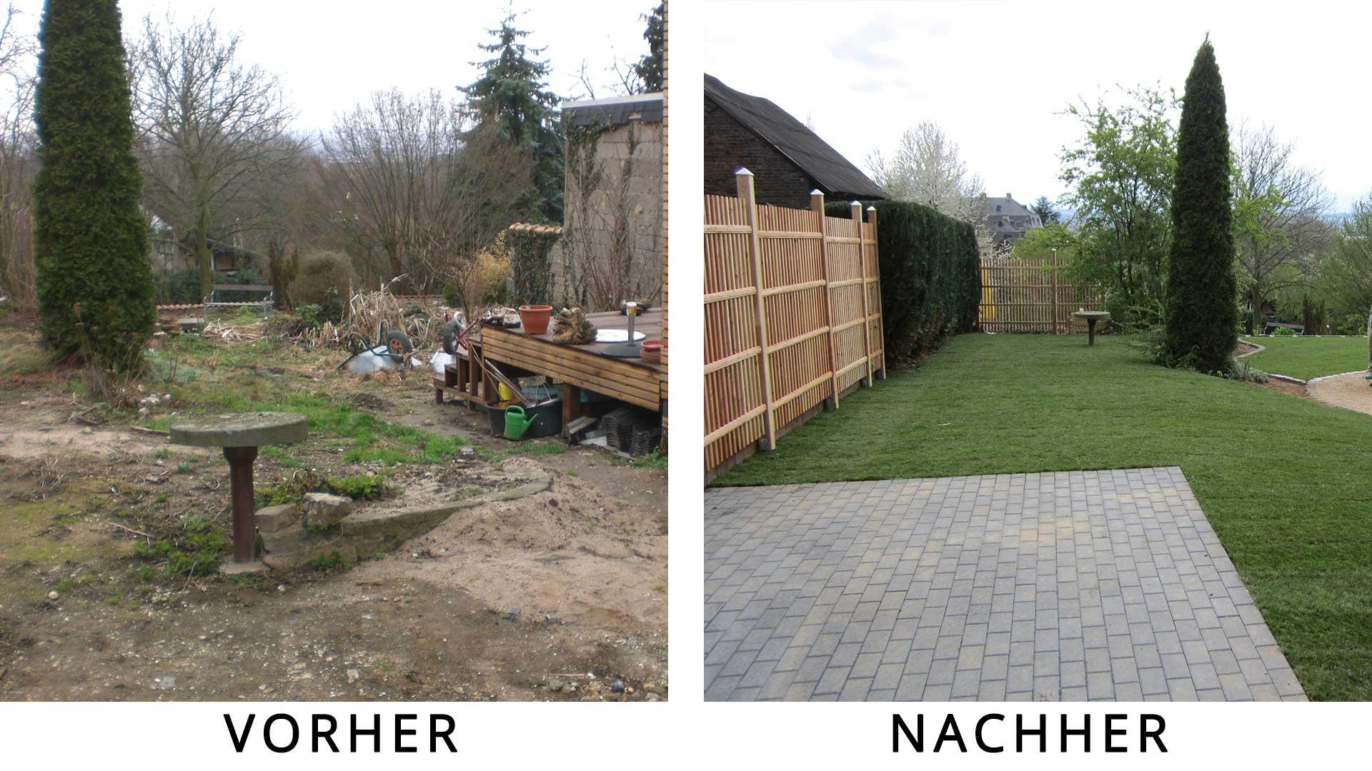 Garten Neu Gestalten Vorher Nachher