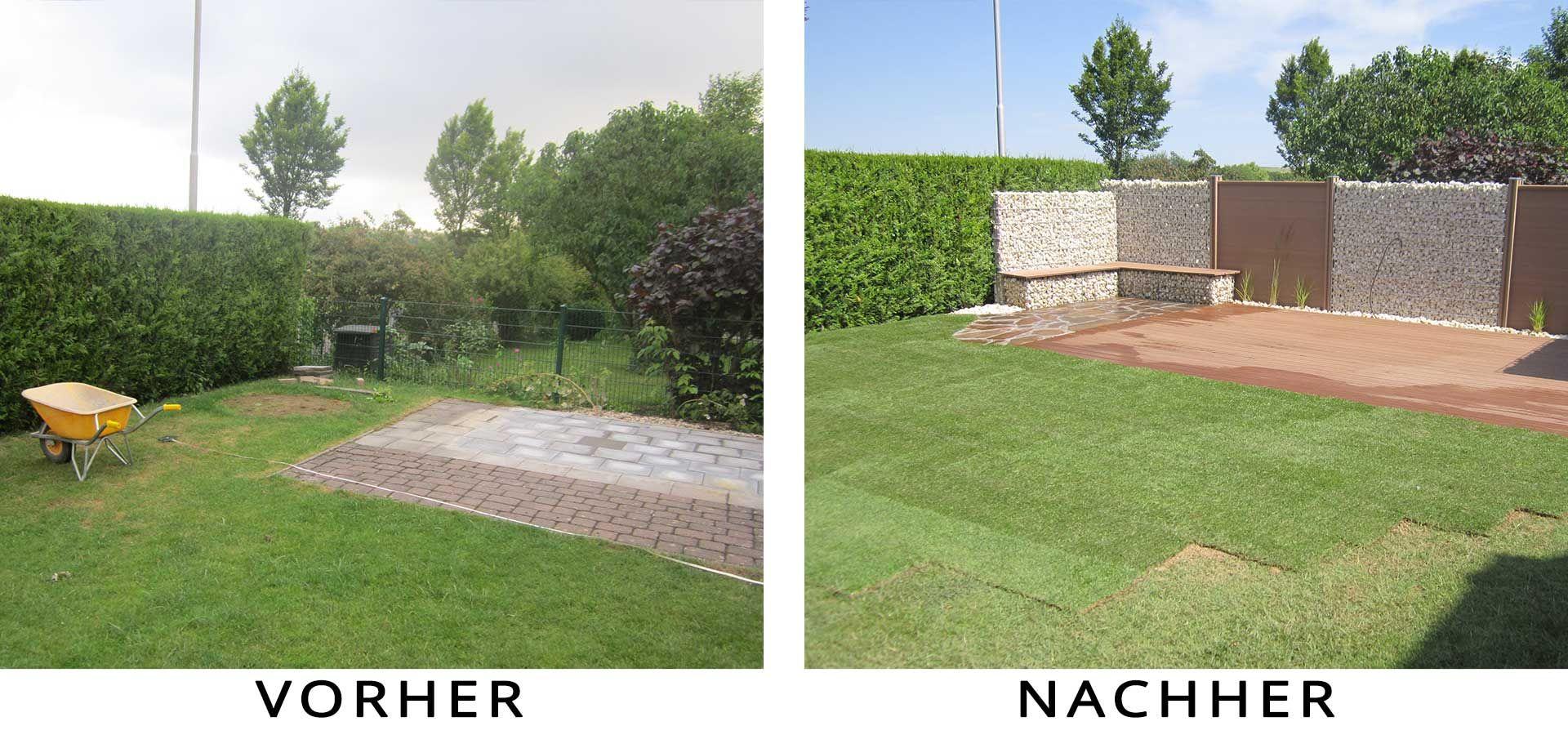 Gartenbau bad neuenahr ahrweiler quandt es werden - Garten vorher nachher ...